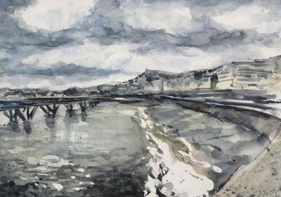 Aquarelle2 Le Treport - Jonathan De Cesare